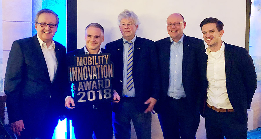 2018 mobility innovation award
